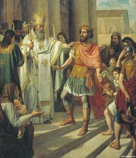 Η βάπτιση του Μεγάλου Πρίγκιπα Βλαντιμίρ στην Κορσούν (Χερσόνησο)- Αντρέι Ιβάνοφ, 1829