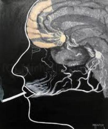 Smoking-brain