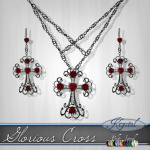 Glorious Cross - Wrought Iron (MultiJewel)