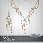 Claire - Jewelry Set - Gold