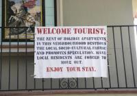 bPRAKTIJK Airbnb-Toerismeprotest