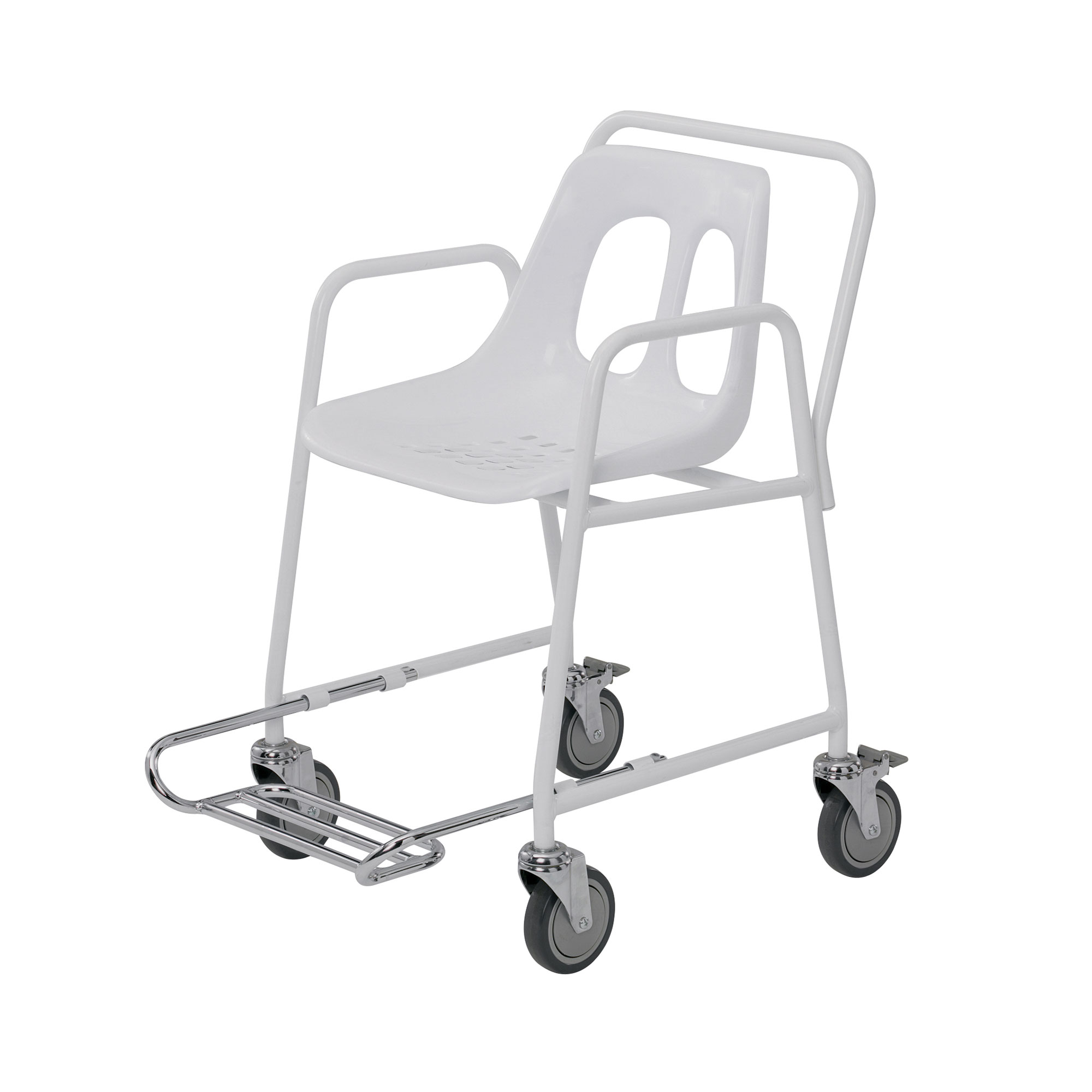 Superb Mobile Shower Chair Footrest Roma Medical Shower Foot Rest Ideas Shower Foot Rest Home Depot houzz-02 Shower Foot Rest