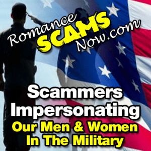 Scammers Impersonating Member Of The Military