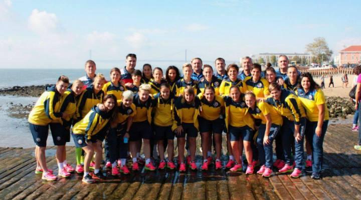 SUCCES! Naționala feminină a României joacă astăzi cu Portugalia pentru calificarea la EURO