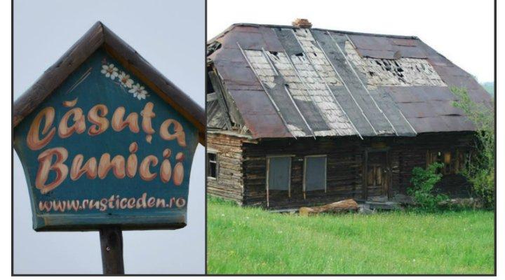 (FOTO) Căsuţa Bunicii. Un român a renovat această casă veche din 1910 și a făcut o pensiune. Vezi cum arată acum: