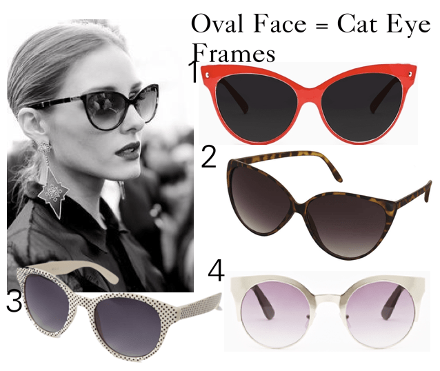 DS cat eye sunglasses