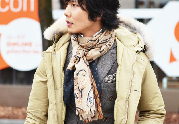 pitti uomo scarf 5