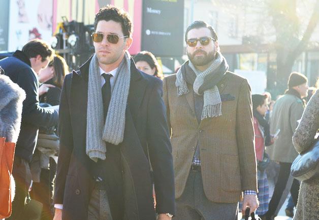 pitti uomo scarf 7
