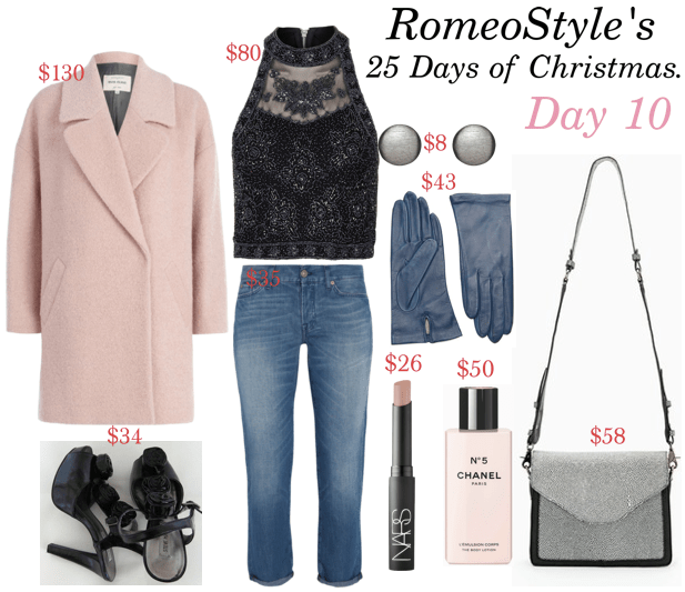 romeostyle 25 days of christmas look 10