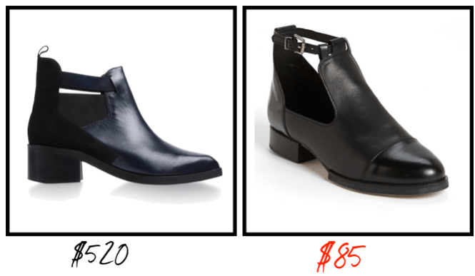 stealing or dealling booties fw13