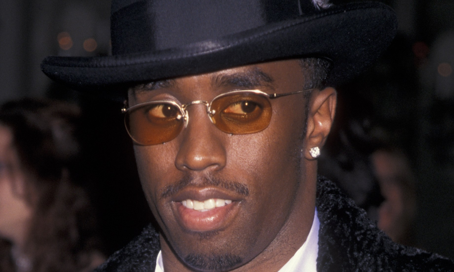Diddy at Arista Records Pre-Grammy Party