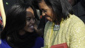 Malia Obama, daughter of US President Ba