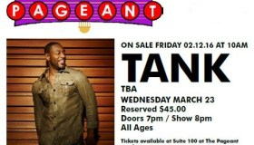 Tank at the PageantSTL