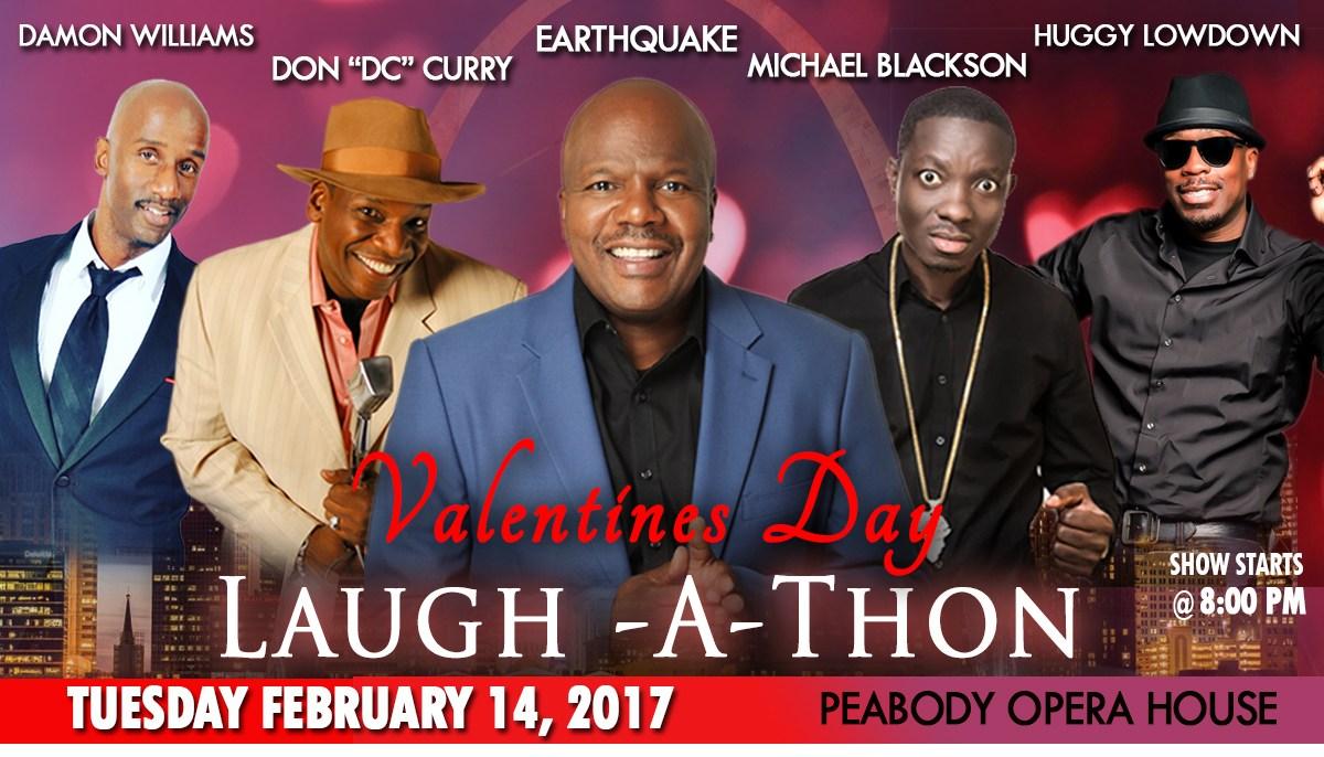 Valentine's Day Laugh A Thon