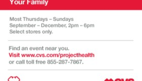 CVS free health screening