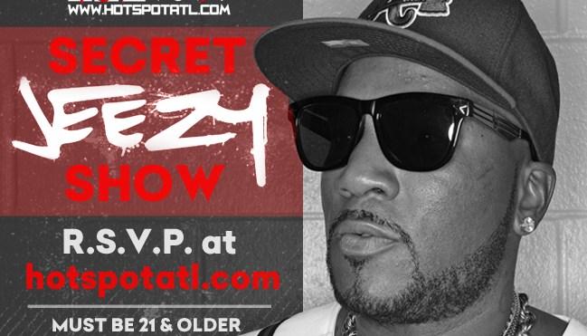 Jeezy Pop Up Show