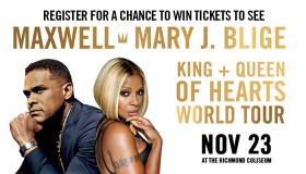 """Maxwell & Mary J Blige """"Show Your Love""""_Enter-to-win Contest_WKJS_Richmond_October 2016"""