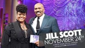 Jill Scott on Steve Harvey Show