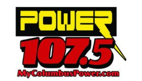 Power 107.5 logo