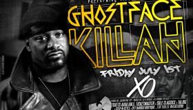 Ghostface Killah at XO