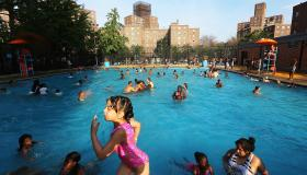 New York City Public Pools Open For Summer Season