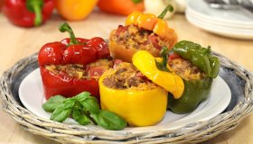 Cheesy Italian Stuffed Peppers in Just 30 Minutes