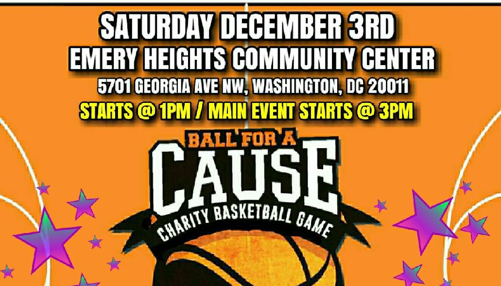 Ball For A Cause Charity Basketball Game