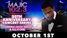 Majic 102.3 30th Anniversary Concert Series