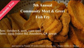 5th Annual Community Meet And Greet Fish Fry