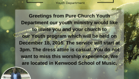 Pure Church Of Jesus Christ Youth Program