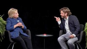 Hillary Clinton Between Two Ferns