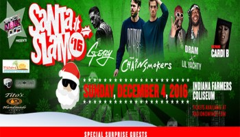 Santa Slam Flyer