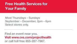 CVS free health screening