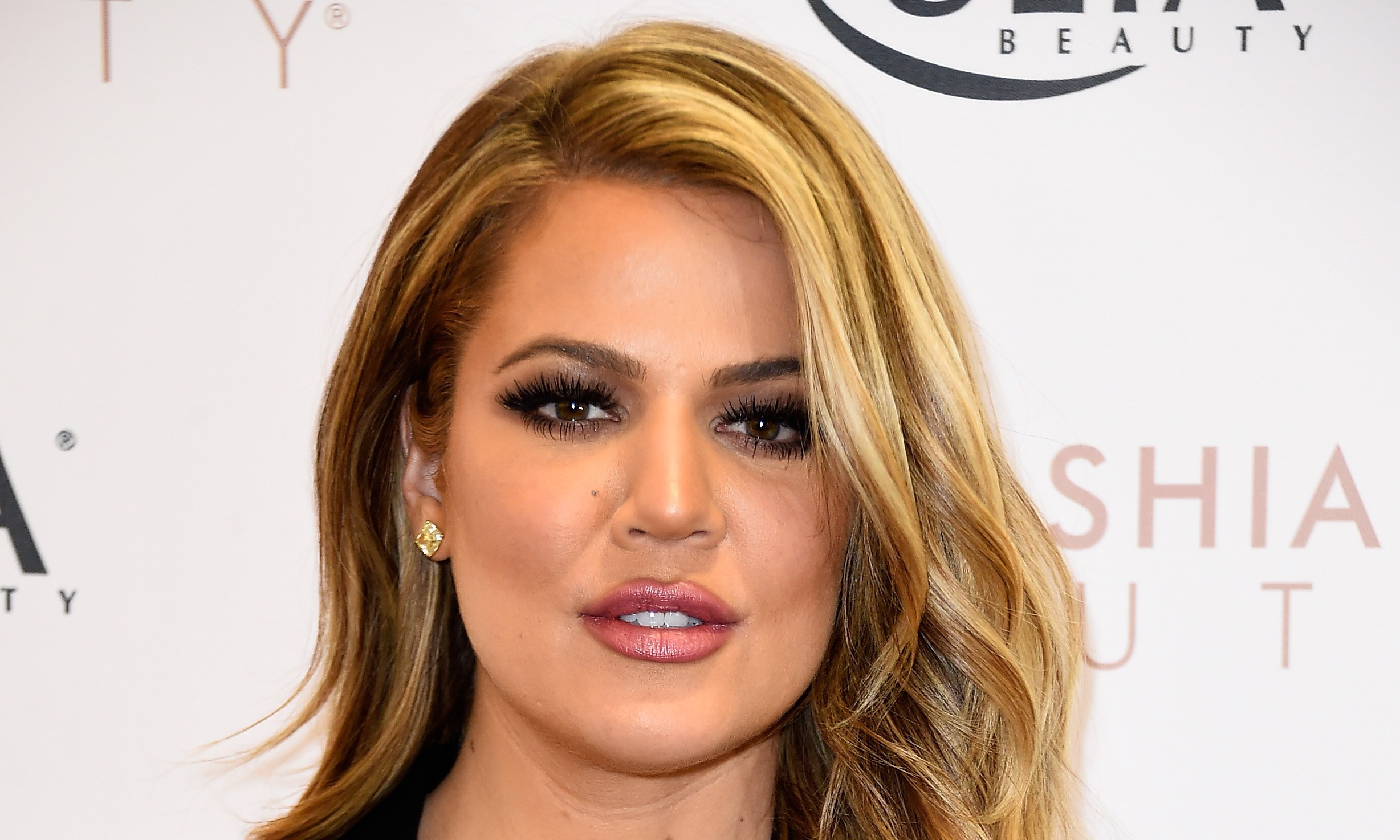 Khloe Kardashian Appears At ULTA Beauty's West Hills Store To Promote Kardashian Beauty Hair Care And Styling Line