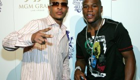 Floyd Mayweather Jr. Hosts Party At MGM's Studio 54