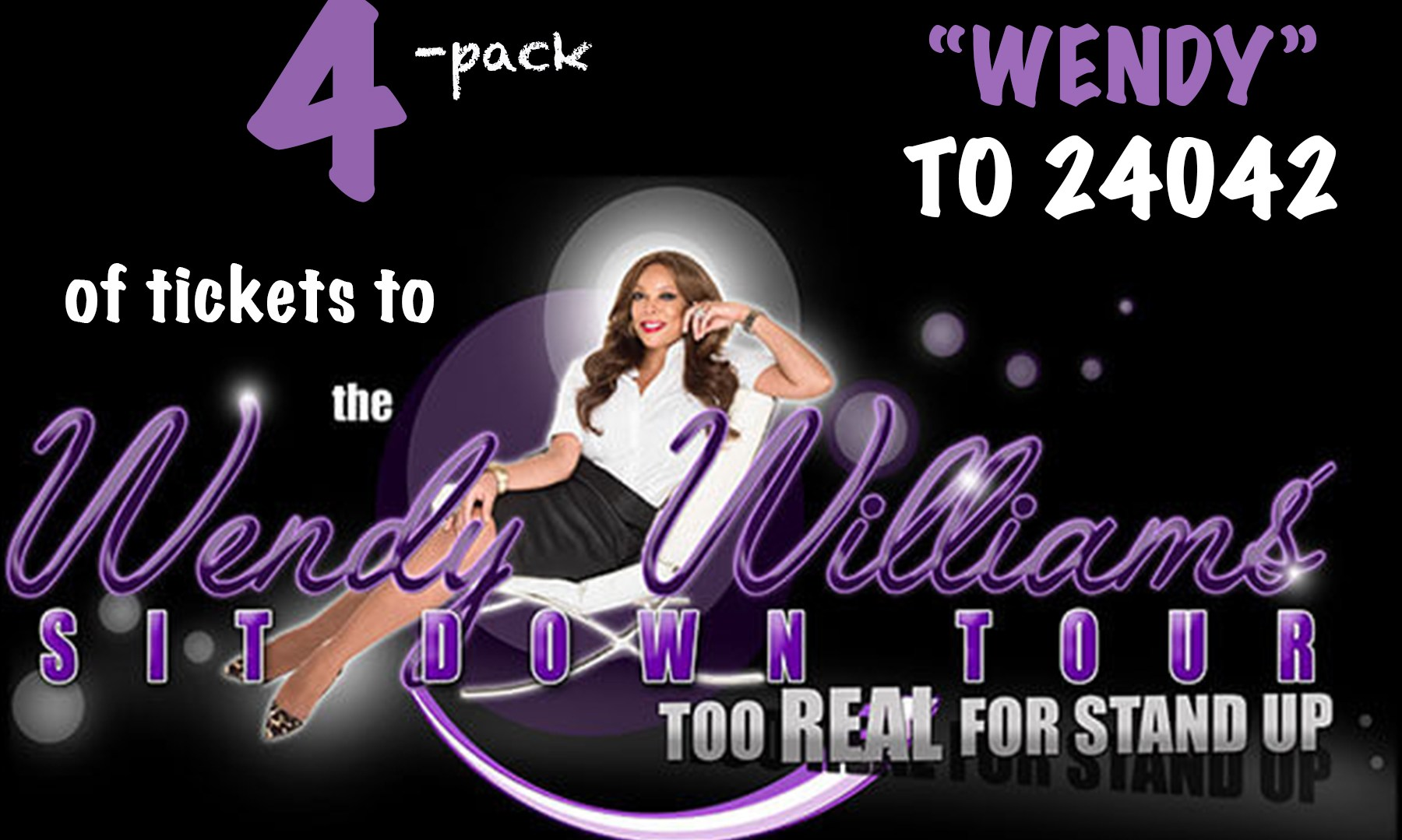 Wendy Williams Text to Win