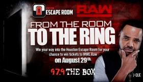 Escape Room + WWE Contest graphic