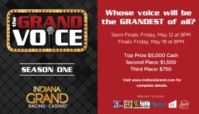 Indiana Grand Voice Competition Flyer