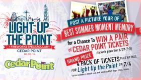 Cedar Point Light Up The Point