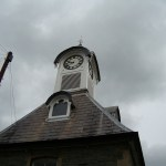 Commision of repairing a clock tower