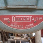 Label on bandsaw