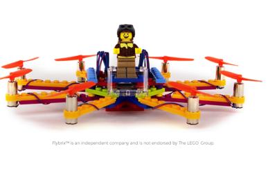 Flybrix, un dron hecho de piezas Lego