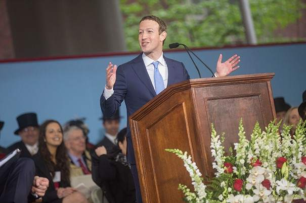 Discurso Mark Zuckerberg Harvard