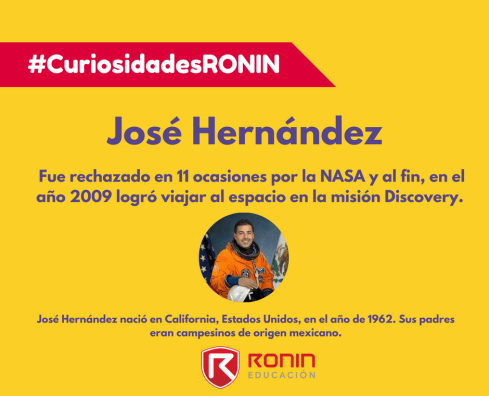 Curiosidades José Hernandez