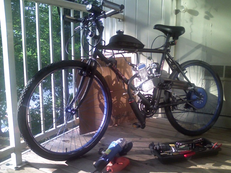 49cc motorized bicycle