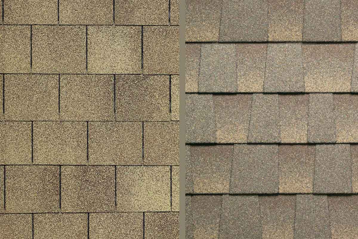 Architectural shingles for Roof shingles styles