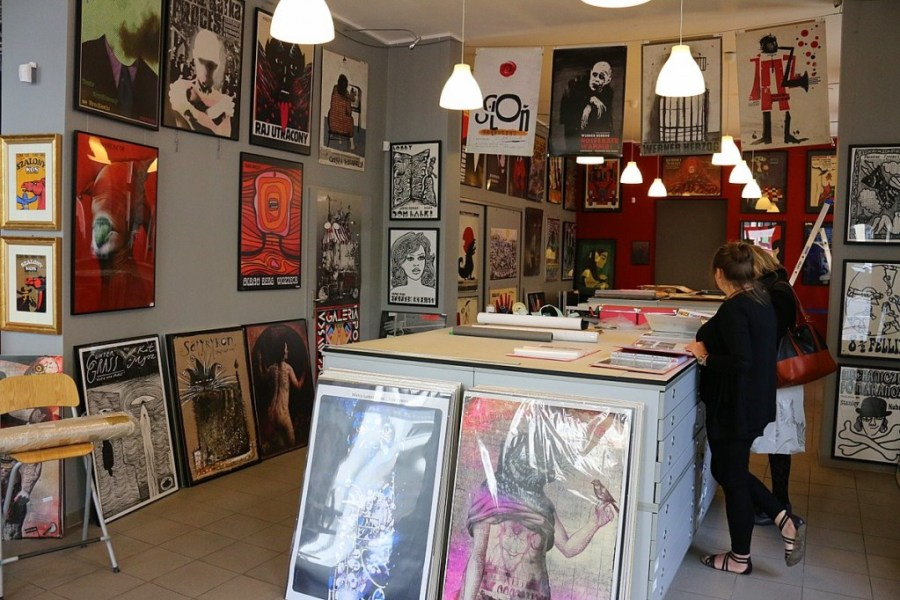 kunst wroclaw plakate galerie