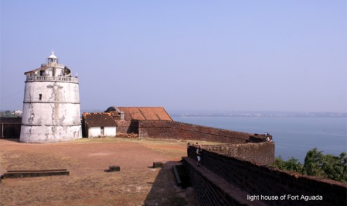 Light house of fort Aguada