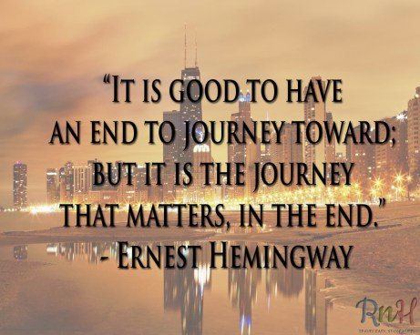 It's good to have_E.Hemmingway