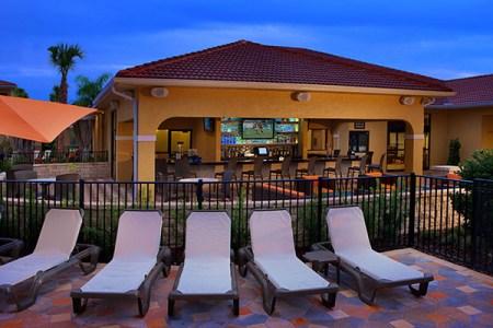 fantasy world resort poolside bar